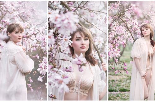 Magnolia Blossoms | Seattle Wild Boudoir